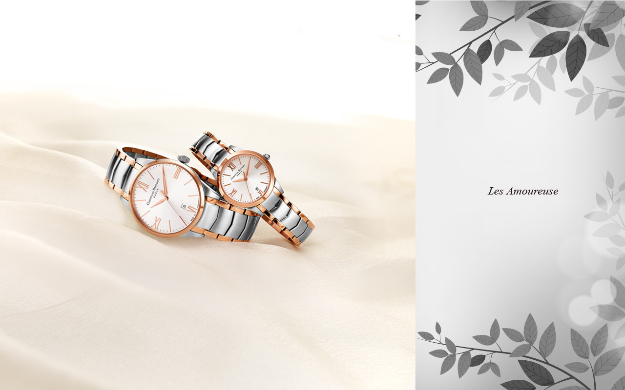 Les Amoureuse Collection  - Everlasting Love Defined by Timeless Timepiece(CB022M/L)